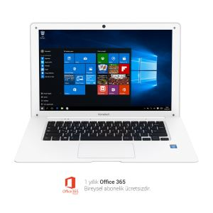 HOMETECH HT BOOK 14B Z3735F 1.83GHZ-2GB-32GB-14.1'' -W10 NOTEBOOK BILGISAYAR