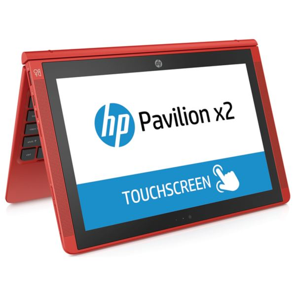 HP PAVILION X2 RED INTEL ATOM Z8300 1.44GHZ-2GB-32GB EMMC-10,1