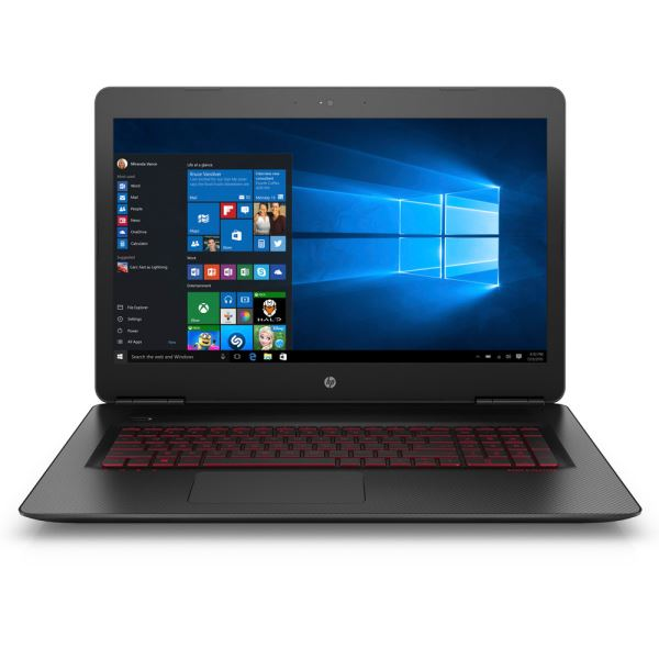 OMEN BY HP 17-W100NT CORE İ7 6700HQ 2.6GHZ-16GB-1TB+128SSD-17.3''GTX1070 8GB-W10