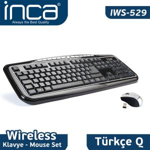 INCA WIRELESS NANO SUPER COSY KLAVYE-MOUSE SETİ