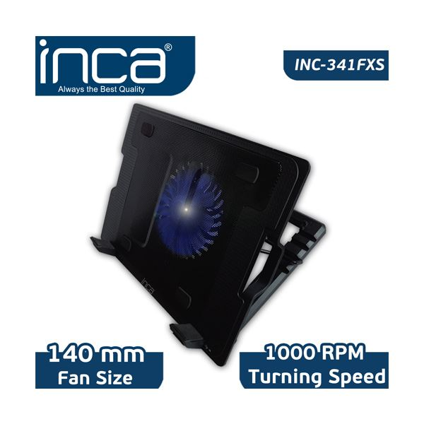 "INC-341FX 7""- 17"" NOTEBOOK SOĞUTUCU - (2 Port USB)"