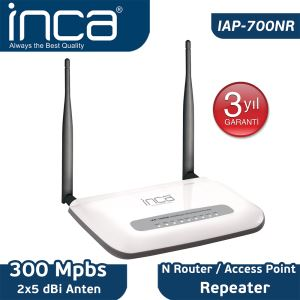 IAP-700NR 300MBPS KABLOSUZ-N ACCESS POINT/ROUTER/UNIVERSAL REPEATER