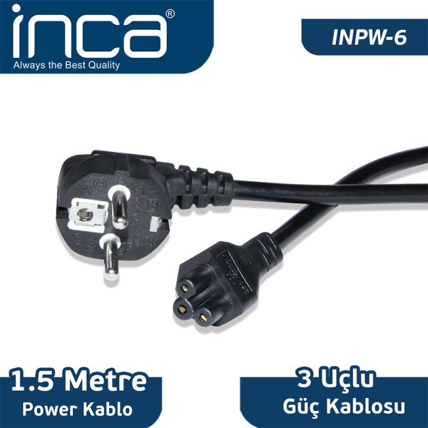 INCA NOTEBOOK POWER KABLO BLİSTER 1.5M