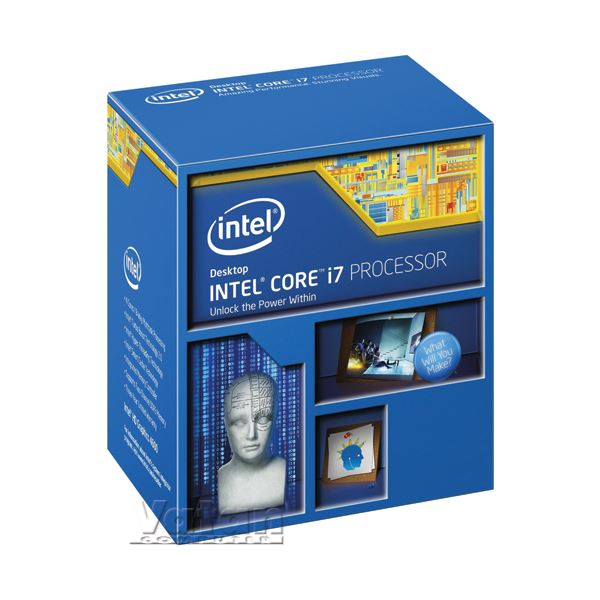 Intel Core i7 4770K Soket 1150 3.5GHz 8MB Cache 22nm İşlemci
