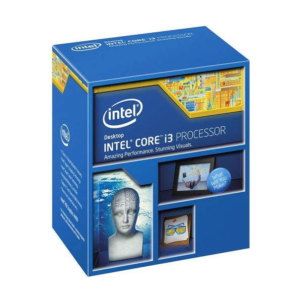 Intel Core i3 4330 Soket 1150 3.5GHz 4MB Cache 22nm İşlemci