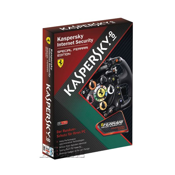 KASPERSKY INTERNET SECURITY 2012 FERRARİ  (1 KULLANICI)