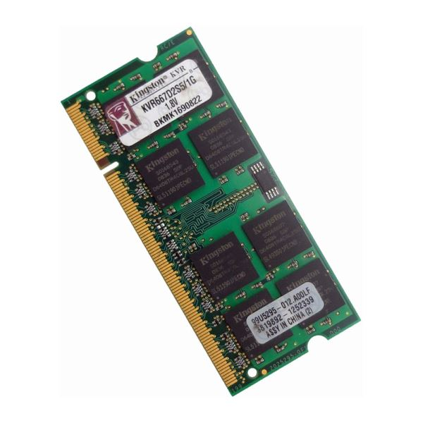 Kingston 1GB DDR2 667MHz Notebook RAM