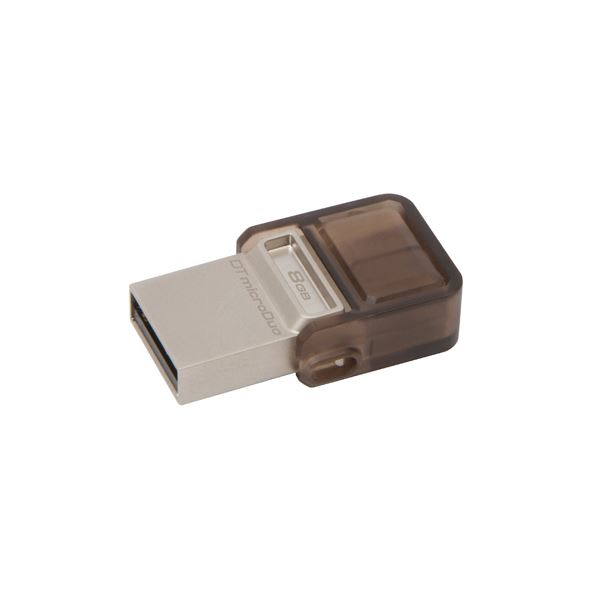 KINGSTON 8GB  DataTraveler MicroDuo USB 2.0 OTG USB Bellek