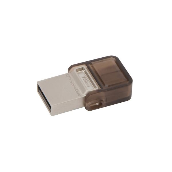 KINGSTON 16GB  DataTraveler MicroDuo USB 2.0 OTG USB Bellek
