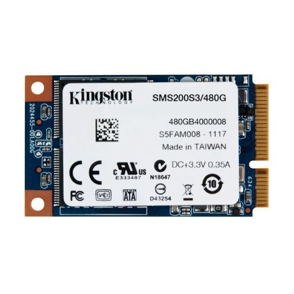 Kingston 480GB mSata SSD (Okuma Hızı 530MB / Yazma Hızı 340MB)