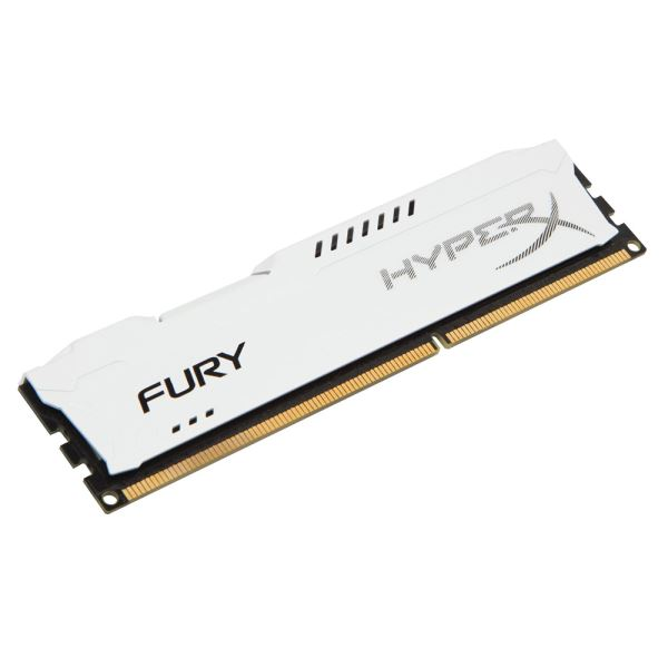 Kingston 8GB Hyperx Fury DDR3 1866MHz CL10 White PC Ram
