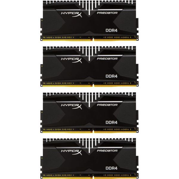Kingston 16GB (4x4GB) HyperX Predator DDR4 3000MHz CL15 1.35V XMP Ram