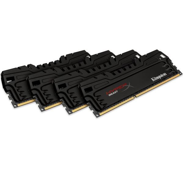 Kingston 32GB (4x8GB) HyperX Beast DDR3 2400MHz CL11 1.65V XMP Ram