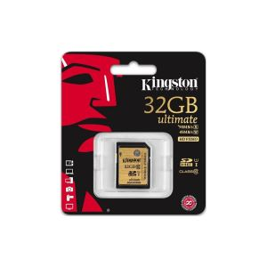 KINGSTON 32GB SDHC/SDXC CLASS10 UHS-I 90mb/s 45mb/s SDHC HAFIZA KARTI