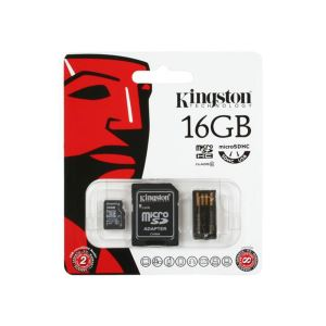 KINGSTON 16GB CLASS 10 MOBILITY KIT (MICROSDHC CLASS10+USB OKUYUCU BUNDLE KIT)