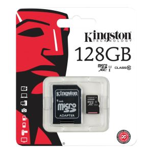 KINGSTON 128GB MICRO SDXC CLASS 10 HAFIZA KARTI