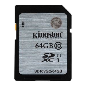 KINGSTON 64GB SDHC CLASS10 (45MB/s) HAFIZA KARTI
