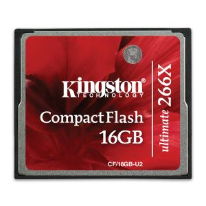 KINGSTON 16GB ULTIMATE COMPACT FLASH HAFIZA KARTI (266X)