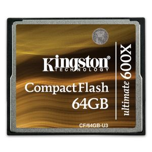 KINGSTON 64GB ULTIMATE COMPACT FLASH HAFIZA KARTI (600X)