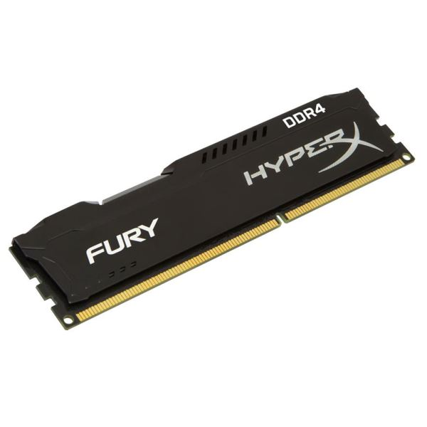 Kingston 8GB Hyperx Fury Black DDR4 2666MHz CL15 PC Ram