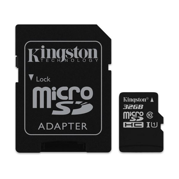 KINGSTON 32GB MICRO SDHC CLASS10 (45MB/s) HAFIZA KARTI