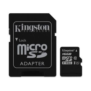 KINGSTON 16GB MICRO SDHC CLASS10 (45MB/s) HAFIZA KARTI