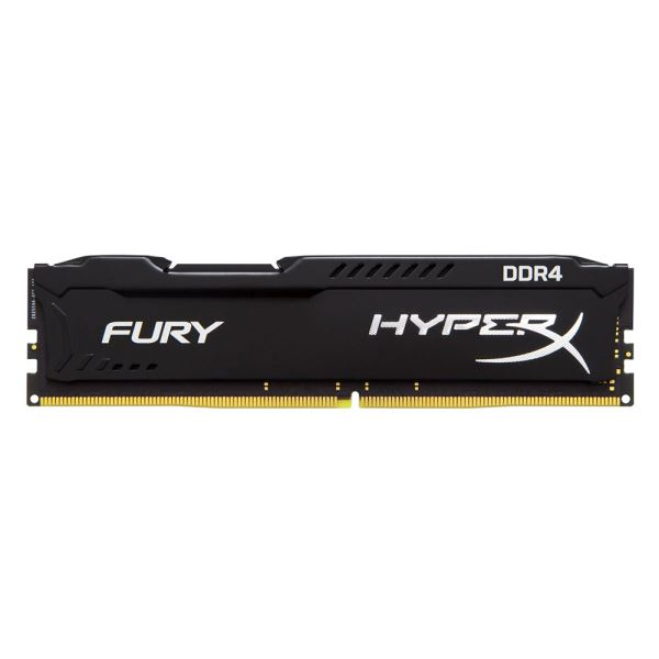 Kingston 16GB HyperX Fury Black DDR4 2400MHz CL15 PC Ram