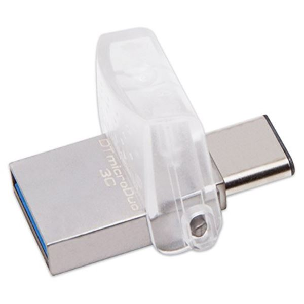 KINGSTON 32GB DataTraveler MicroDuo 3C USB 3.1/3.0 USB Bellek
