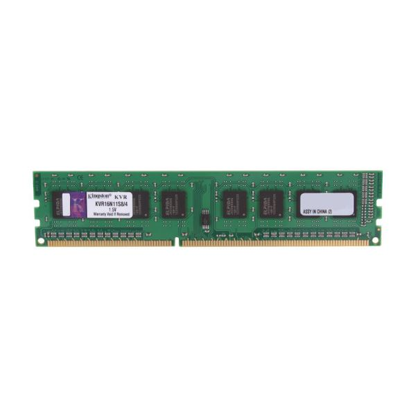 Kingston 4GB Value 1600MHz DDR3 CL11 PC Ram