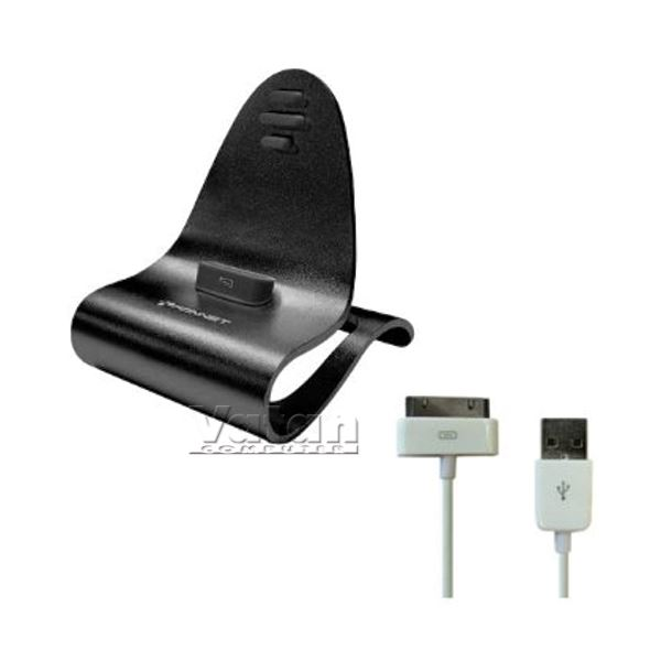KN-8268 iCrado PLUS IPHONE 4/4S DOCK STATION- (SİYAH)