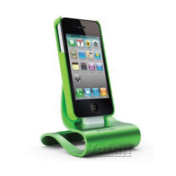 KN-8280 iCrado PLUS IPHONE 4/4S DOCK STATION- (YEŞİL)