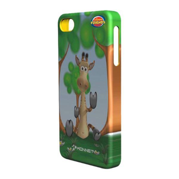 KN-5723 HARDJAC GRAFFİTO IPHONE 4/4S KILIF- (GİNA)