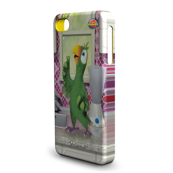 KN-5731 HARDJAC GRAFFİTO IPHONE 4/4S KILIF- (PİERRE)