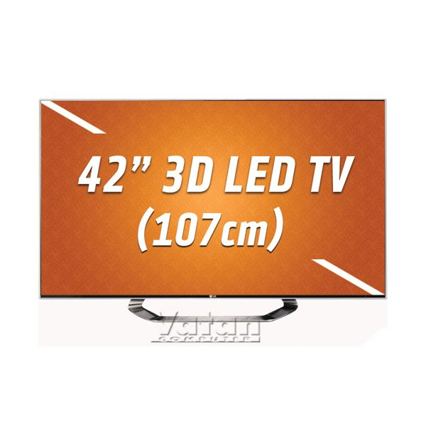 LG 42LM760S 3D LED TV 107 cm FULL HD, 800 HZ,DLNA,4xHDMI,USB,Dual Play