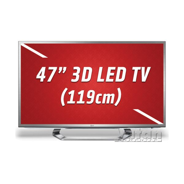 LG 47LM671S 3D LED CİNEMA 119  cm, FULL HD ,MCI 400 Hz,Wİ-Fİ,4 ADET GÖZLÜK