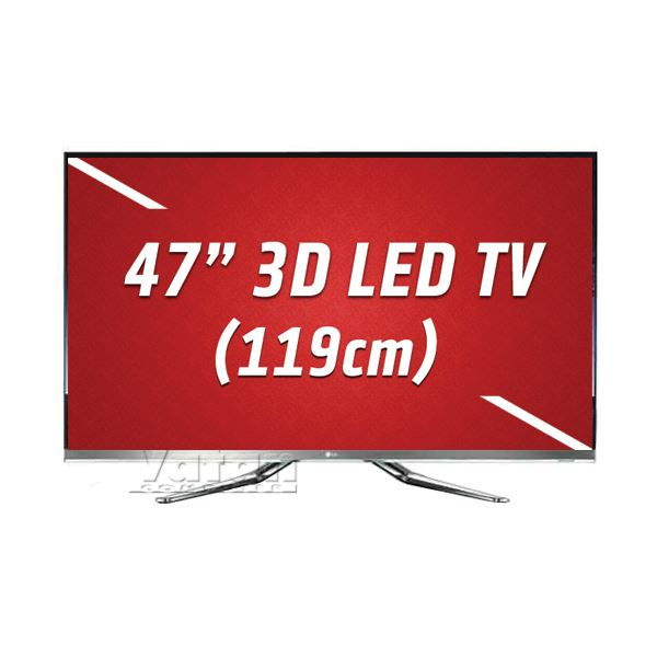 LG 47LM860V 3D LED CİNEMA 119 cm FULL HD,MCI 800 Hz,Wİ-Fİ,6 ADET GÖZLÜK,