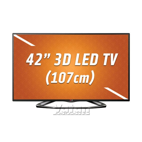 LG 42LA620S 107 cm CINEMA SMART 3D FULL HD LED TV, 200 Hz,DAHİLİ UYDU ALICI,WİFİ