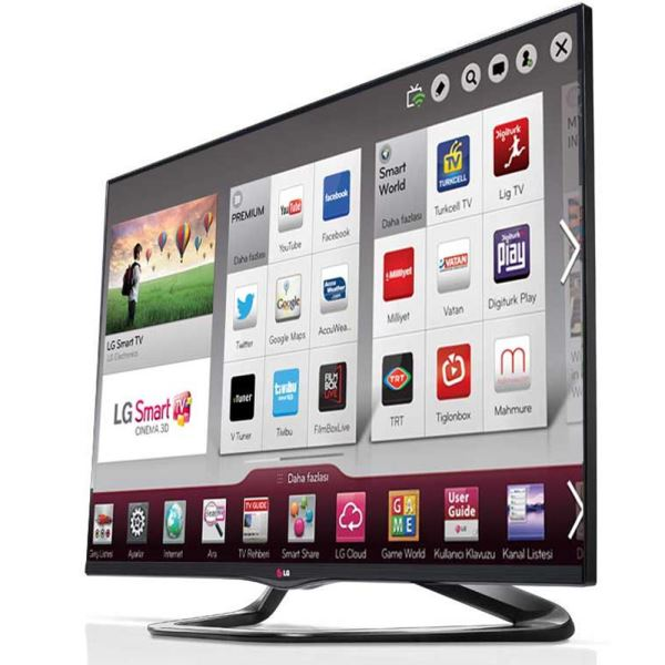 LG 55LA660S 138 cm CINEMA SMART 3D FULL HD LED TV, MCI 400 Hz,3XHDMI