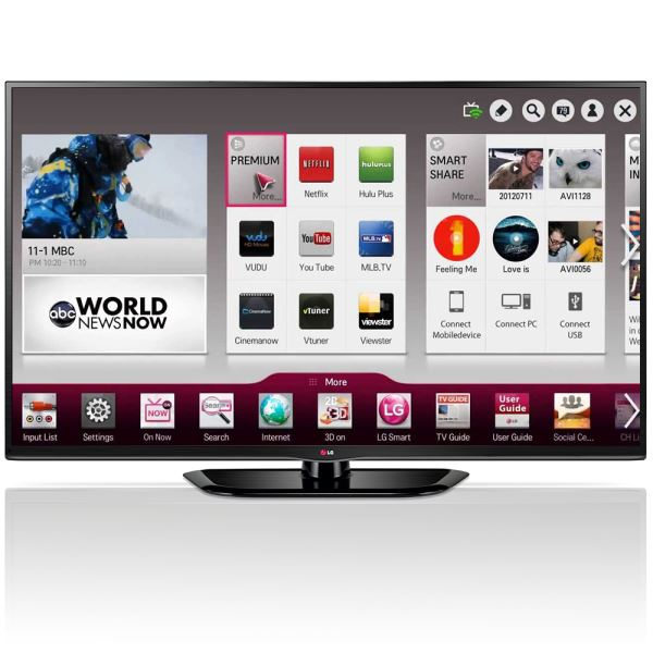 LG 60PH670S 60'' 152 CM SMART 3D FULL HD PLAZMA TV,3XHDMI,3XUSB 600 HZ
