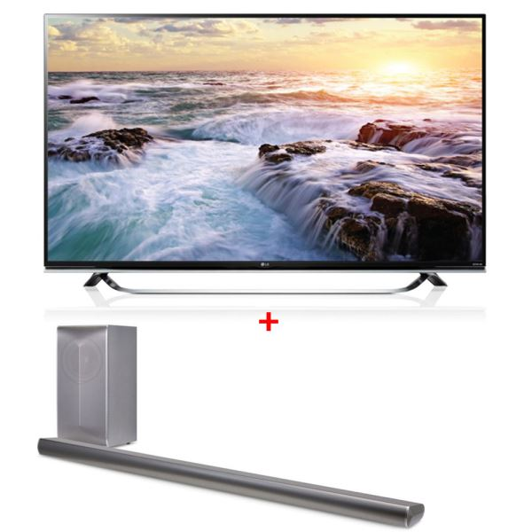 LG 55UF8507 TV + LAS750 SoundBar Bundle Kampanyası