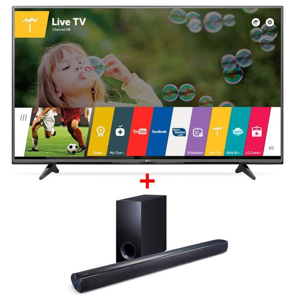 LG 43UF6407 TV + NB2540A SOUNDBAR KAMPANYASI