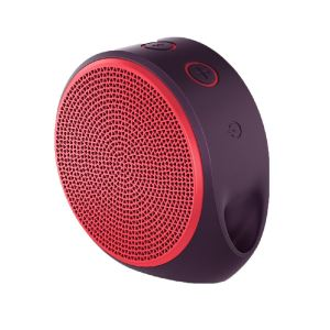LOGITECH X100 BLUETOOTH MOBILE SPEAKER (RED)