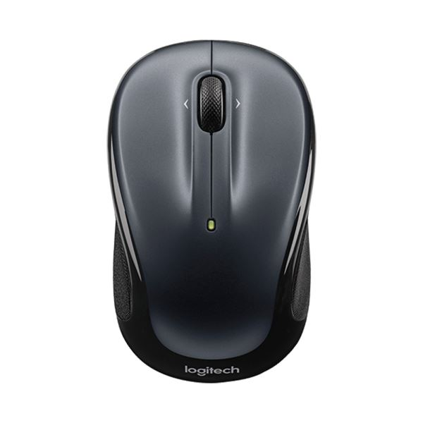 LOGITECH M325 UNIFYING WIRELESS OPTICAL NB MOUSE (DARK SILVER)