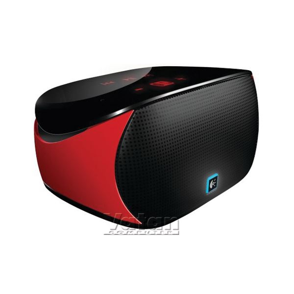 LOGITECH MINI BOOMBOX BLUETOOTH SPEAKER (RED)