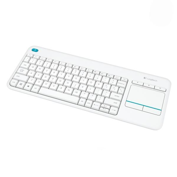 LOGITECH K400 PLUS TOUCH WHITE TR KEYBOARD