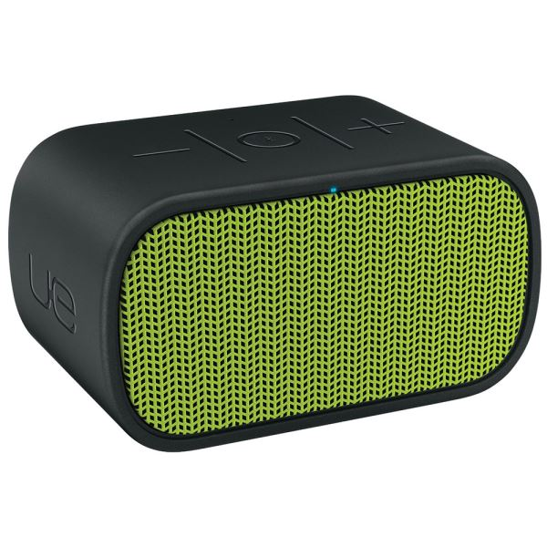 LOGITECH UE MINI BOOM WIRELESS BLUETOOH SPEAKER (BLACK & GREEN)