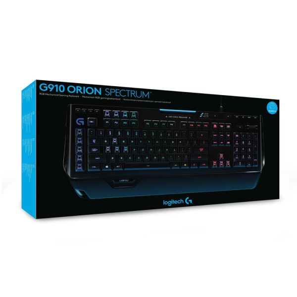 LOGITECH G910 ORION SPECTRUM MECHANICAL GAMING KEYBOARD