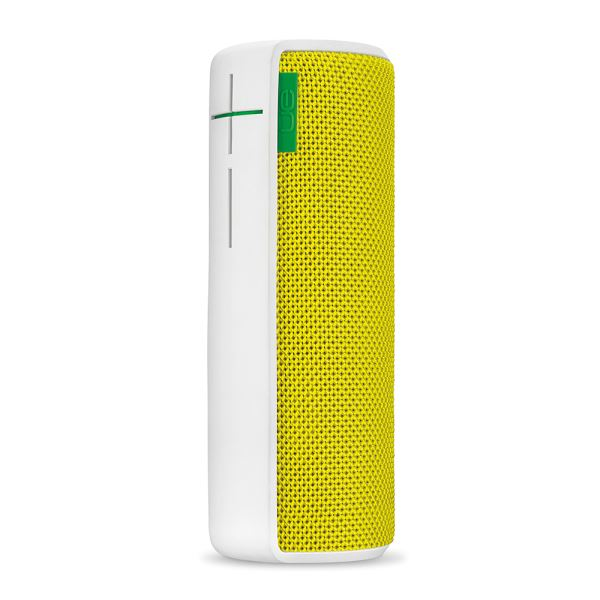 LOGITECH UE BOOM WIRELESS BLUETOOTH SPEAKER (CITRUS YEL FABRIC GREEN )