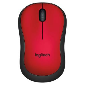 LOGITECH M220 SLIENT MOUSE RED