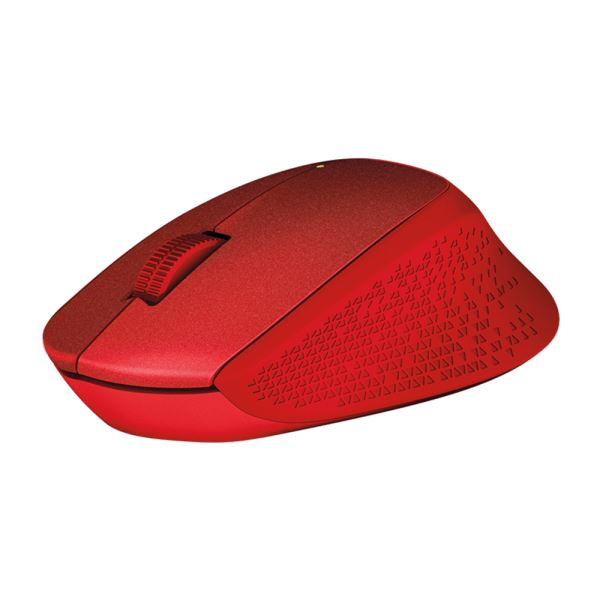LOGITECH M330 SILENT RED MOUSE